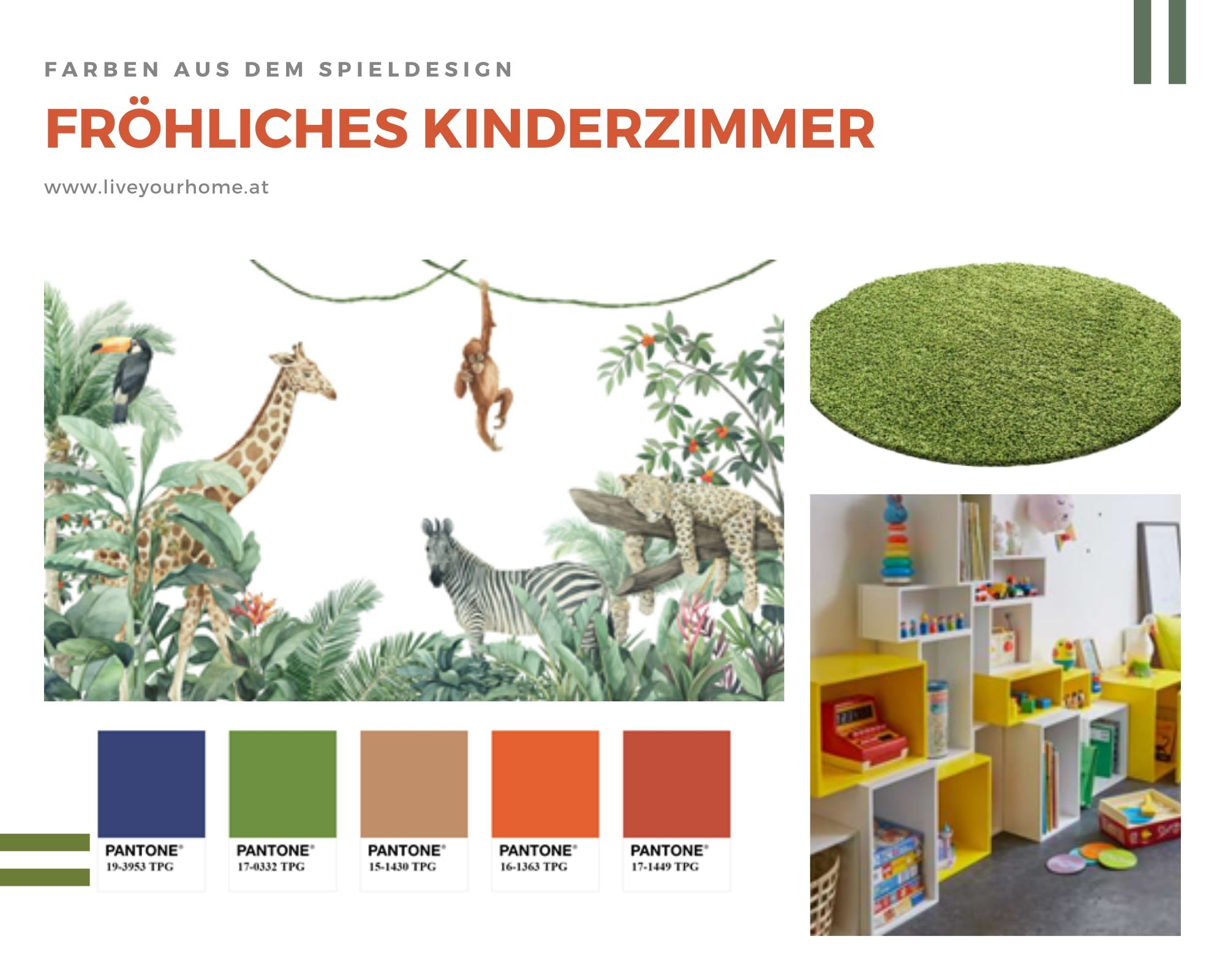 Kinderzimmer Interiordesign